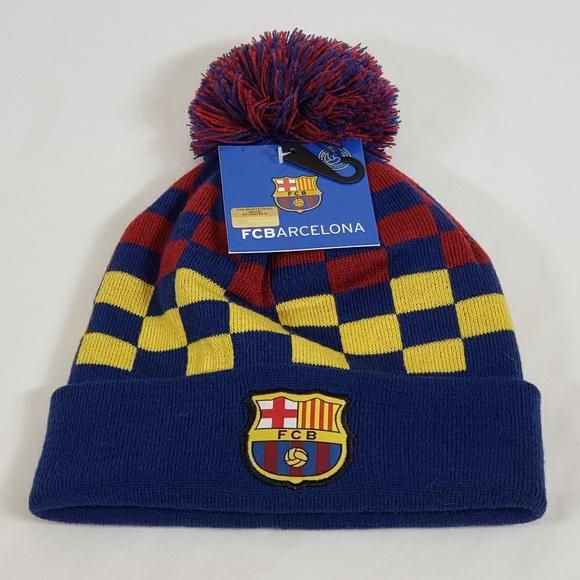 FC Barcelona Other - FC Barcelona Men's Pom Beanie